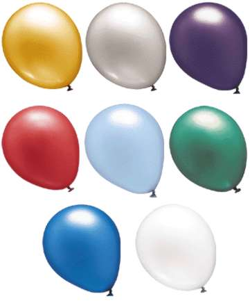 Balloons Metallic color